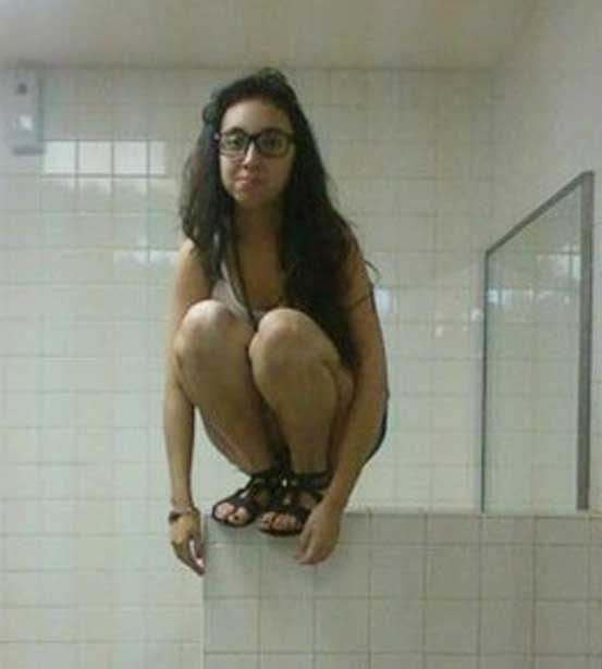Bathroom Owling