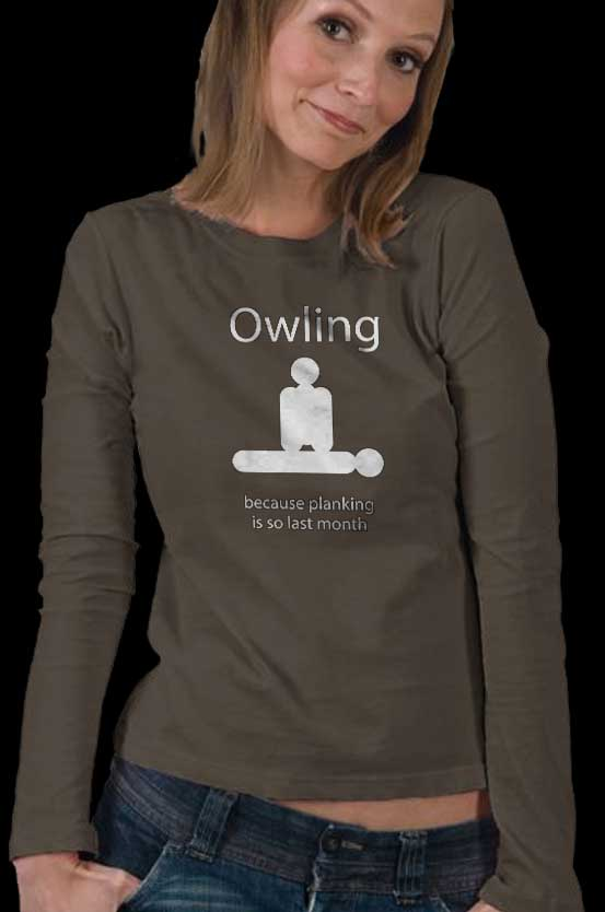 Owling Dark Shirts for everyone in the family