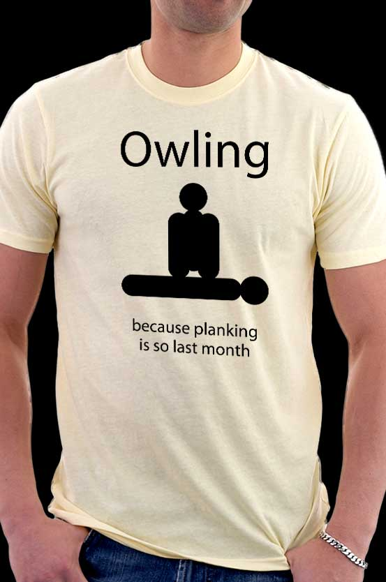 Funny Owling Shirts available  now at CuriousInkling.com