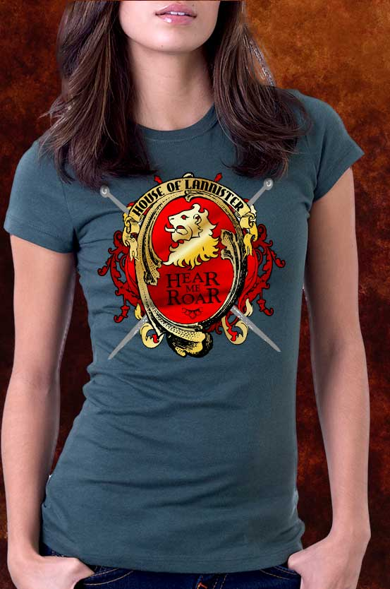 House Of Lannister Tee Shirt