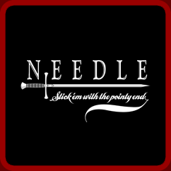 Needle : Stick 'em with the pointy end.