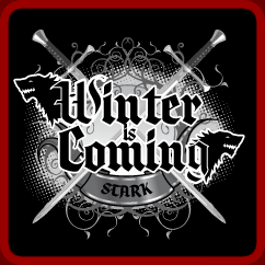 Winter Is Coming Game of Thrones T-shirt