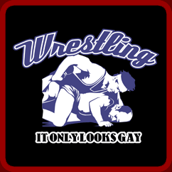 Wrestling It Only Looks Gay